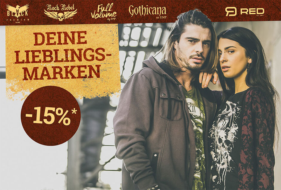 -15% auf unsere exklusiven Marken