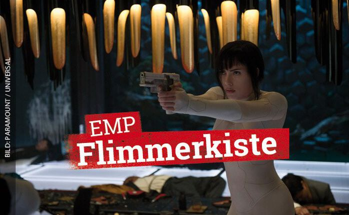 Frisch im Heimkino: GHOST IN THE SHELL mit Scarlett Johansson!