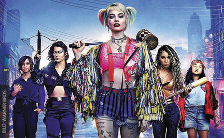 BIRDS OF PREY: THE EMANCIPATION OF HARLEY QUINN ist endlich im Heimkino gelandet!
