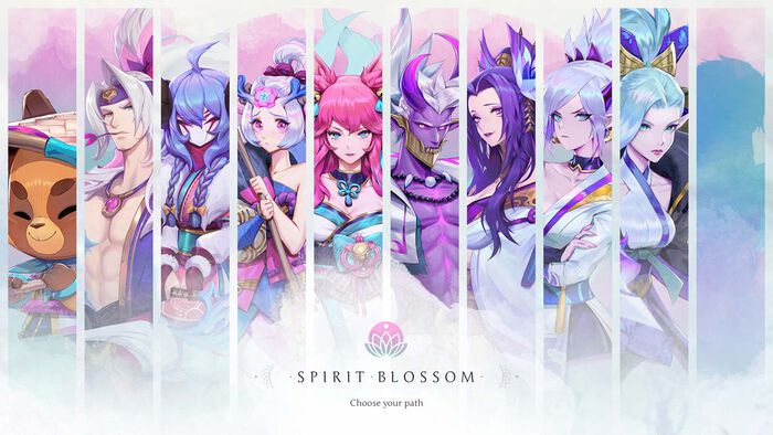 Seelenblumen-Events für drei Riot-Titel