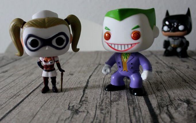 Harley Quinn und Joker Funko Pop! – das Dreamteam
