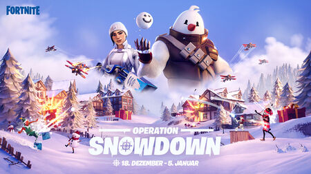 Fortnite Winter-Event – Operation: Snowdown