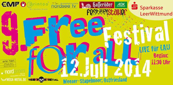 Festival für lau: das FREE FOR ALL im ostfriesischen Stapelmoor