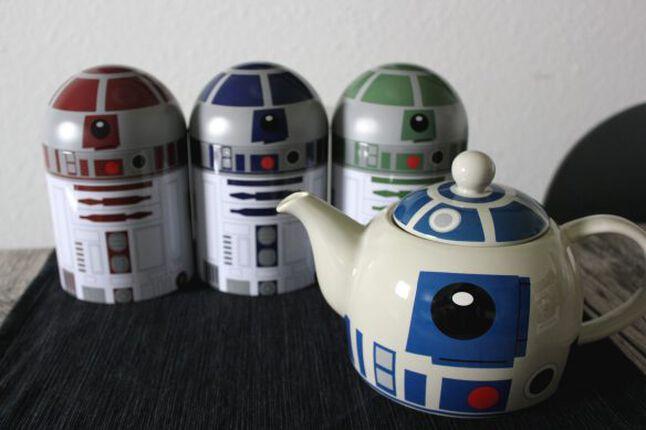 R2-D2 für die Küche: Teekanne und Aufbewahrungsboxen