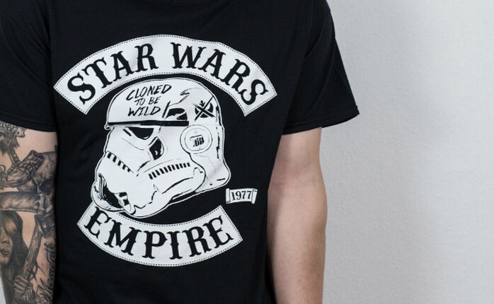 Cloned to be wild - Mein fettes Star Wars Shirt.