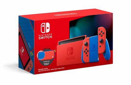 Nintendo Switch Mario-Edition und Super Mario 3D World + Bowser's Fury