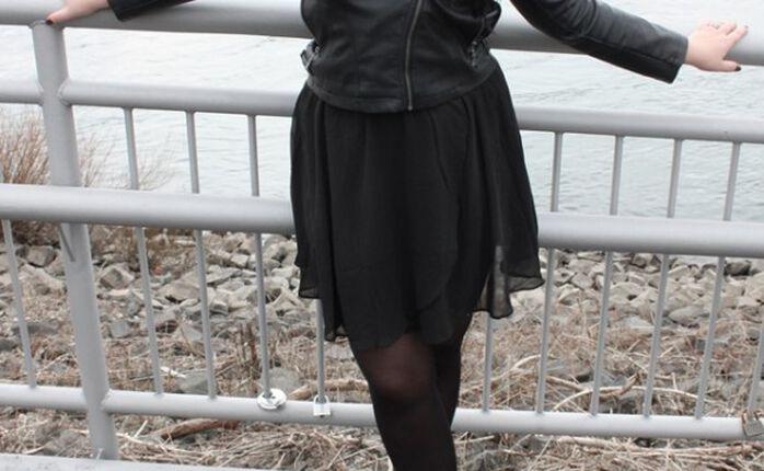 Der Frühling kann kommen: Black Swinging Skirt