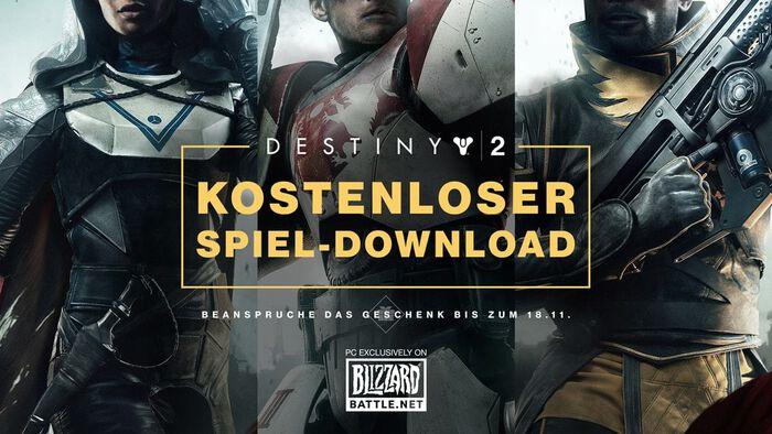 Destiny 2 gratis für PC-Spieler