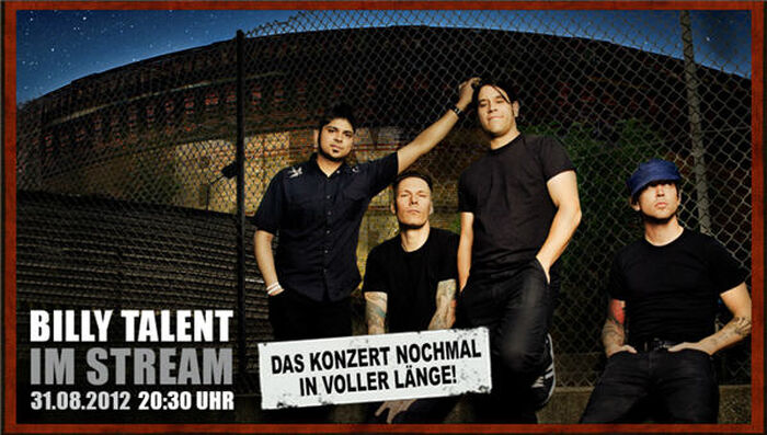 Billy Talent rocken Leipzig in Grund und Boden!
