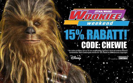 Wir feiern das Wookiee Weekend!
