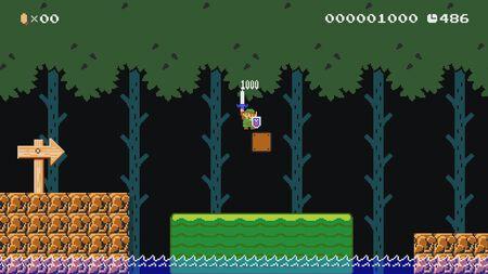 Super Mario Maker 2 meets The Legends of Zelda