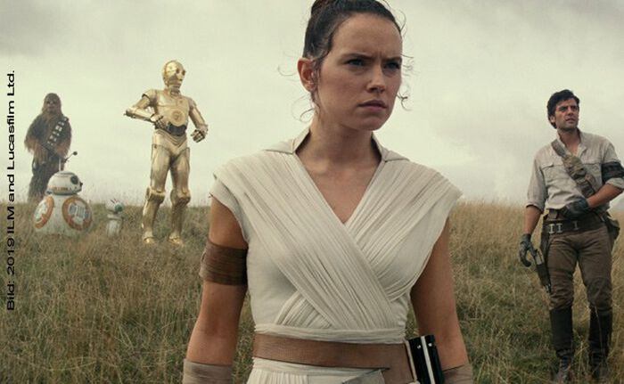 Neue Kino-Trailer: STAR WARS: THE RISE OF SKYWALKER u. a.