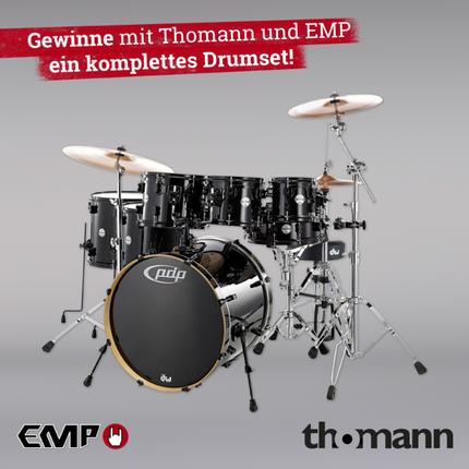 Gewinnt ein komplettes Drumset von GEWA Drums!