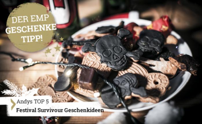 Der EMP Geschenke Tipp - Top5 Festival Survival