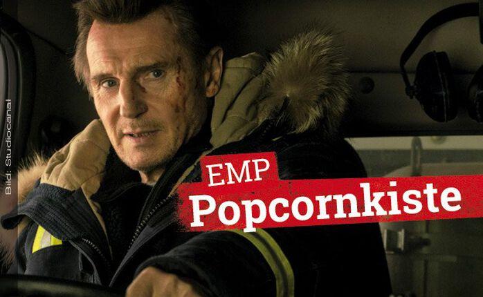 Die EMP Popcornkiste vom 28. Februar 2019 mit HARD POWDER und ESCAPE ROOM