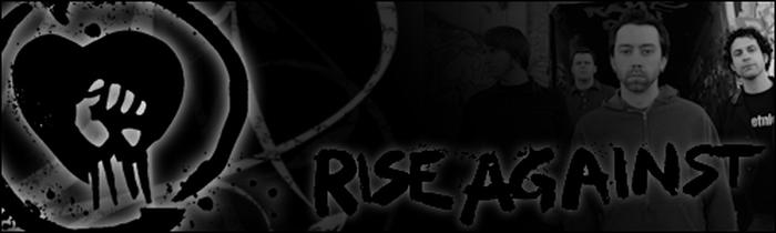 Rise Against - Zwei Augenfarben, aber nie ein Auge verschlossen!