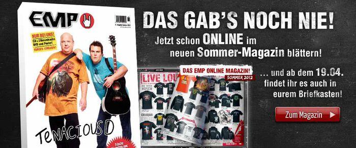 Ab sofort Online im neuem EMP Sommer-Magazin blättern!