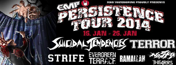 Die EMP Persistence Tour geht 2014 in die nächste Runde!