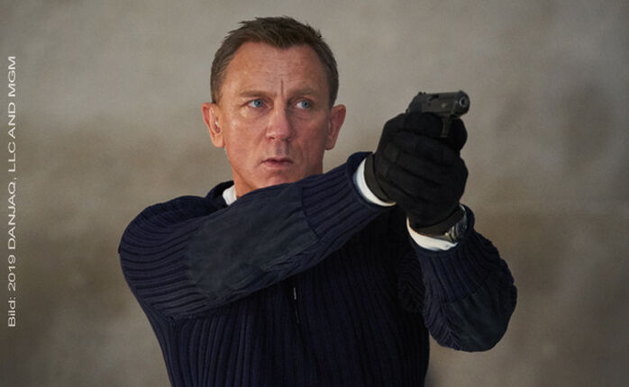 Hände hoch: Der erste Trailer zu JAMES BOND 007 – KEINE ZEIT ZU STERBEN ist da!