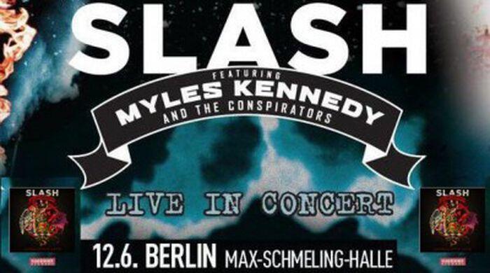 Slash überzeugt bei seinem Berlin Konzert nicht nur mit neuen Songs!