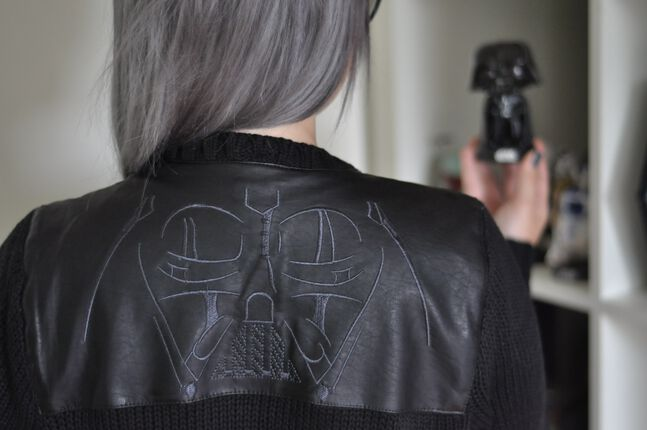 Come to the Dark Side – Darth Vader Cardigan