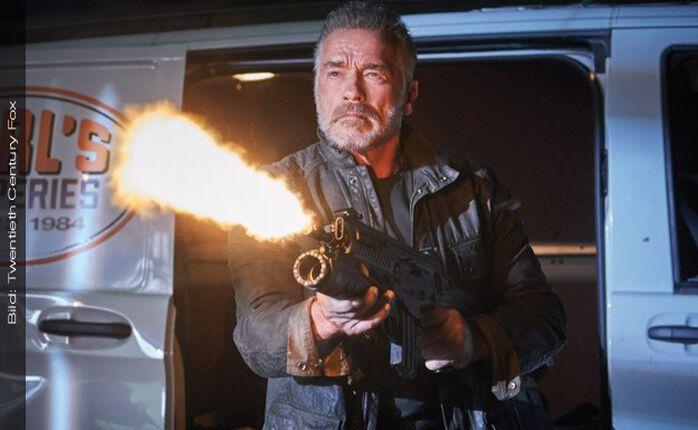 TERMINATOR 6: DARK FATE: saugeile Comic-Con-Featurette zum Arnie-Actionkracher