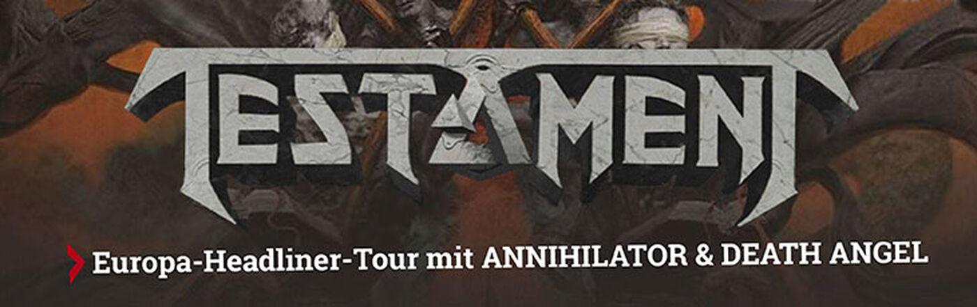 Testament Brotherhood of the Snake Tour 2017