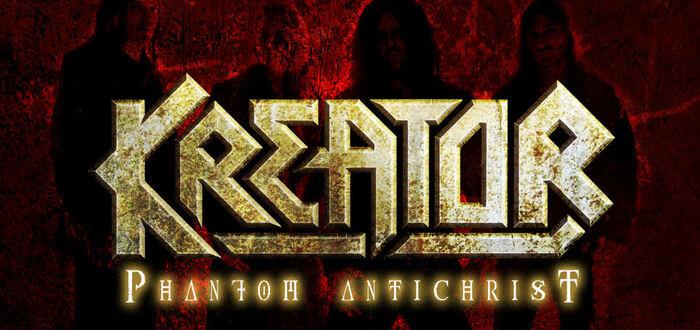"""Kreator denken mit dem neuen Album """"Phantom Antichrist"""" den Metal weiter!"""