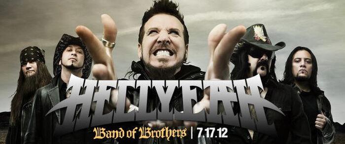 """Hellyeah – Das neue Album """"Band Of Brothers"""" definiert das Wort """"Macht"""" neu!"""