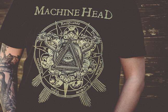 All Knowing Eye - Mein Machine Head Shirt