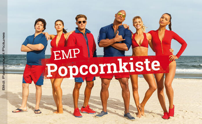 BAYWATCH - Sonne, Beach, Girls, Bojen, The Rock, Brüste, Muskeln, geil!