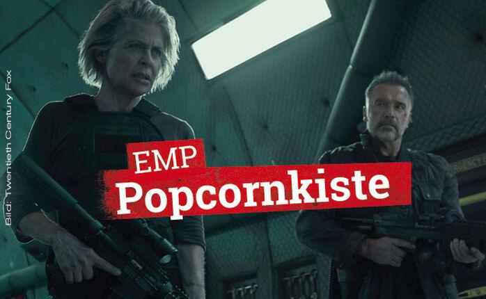 Kinostarts: TERMINATOR: DARK FATE und DIE ADDAMS FAMILY in der EMP Popcornkiste vom 24. Oktober 2019