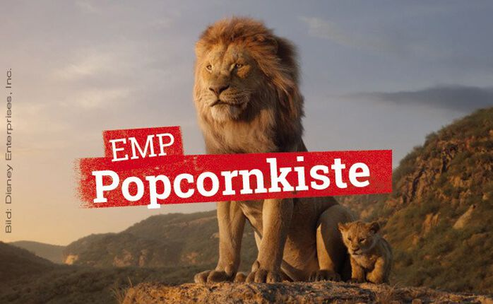 Kinostarts: DER KÖNIG DER LÖWEN, CHILD'S PLAY & ANNA in der EMP Popcornkiste vom 18. Juli 2019