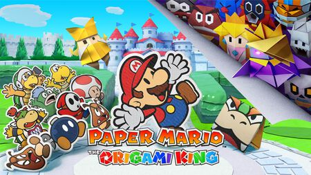 Paper Mario: The Origami King – ab Juli auf Nintendo Switch