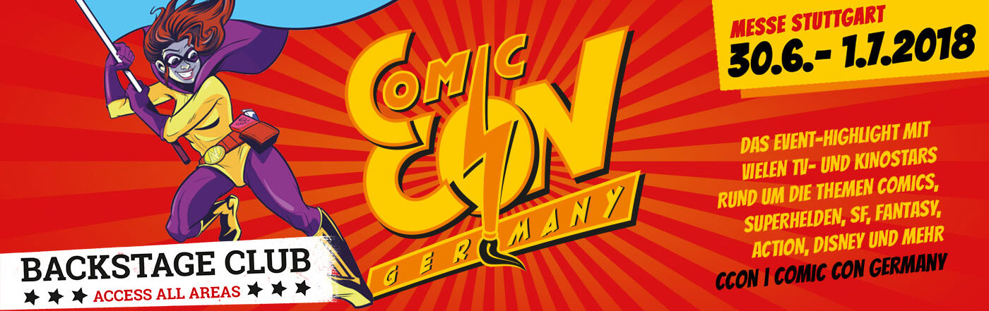 Comic Con Germany 2018