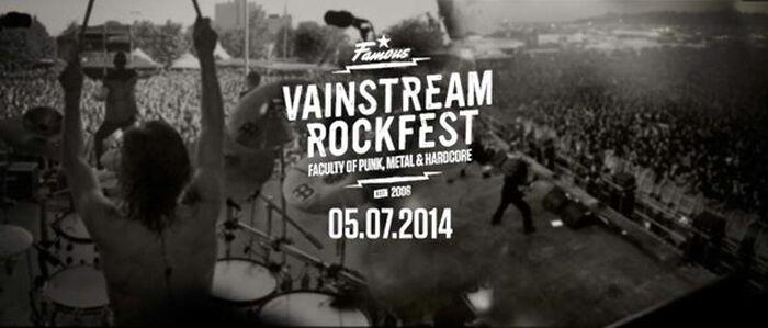 EMP präsentiert das Vainstream Rockfest 2014!