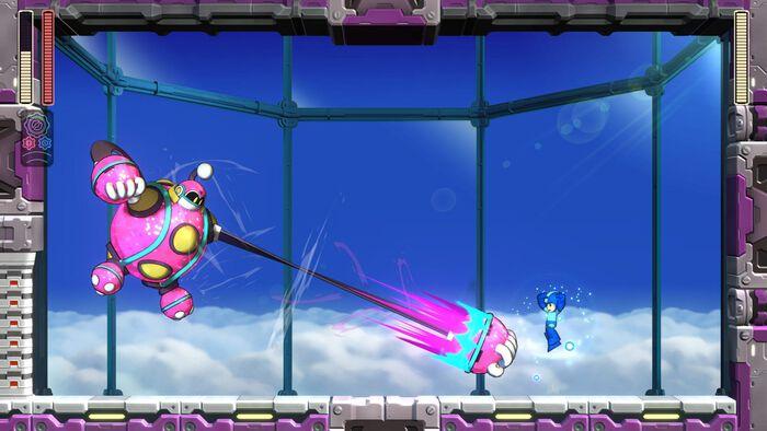 Mega Man 11 – bunter Multiplattformer