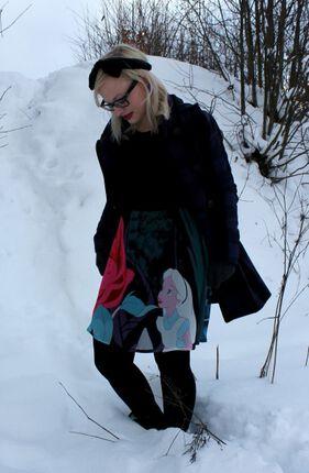 Alice im Wunderland-Kleid - Sometimes I feel like Alice