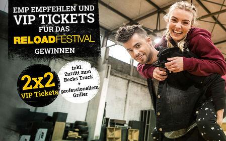 EMP empfehlen und VIP Tickets gewinnen!