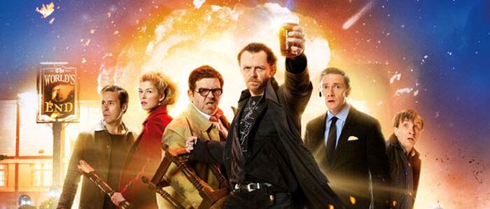 Mit Pegg und Frost auf die Alien-Apokalpyse anstoßen: THE WORLD'S END! Im Kino!