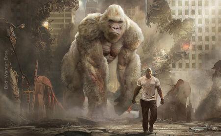 """Streaming-Highlights der Woche: """"Rampage – Big Meets Bigger"""", """"Kate"""", Pixars """"Nona"""" und mehr!"""