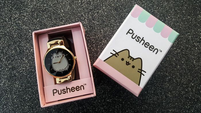 Kawaii unterwegs mit der Pusheen Armbanduhr