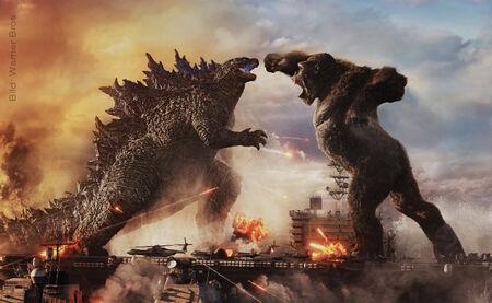 Monströs: Der deutsche Trailer zu GODZILLA VS. KONG ist da!