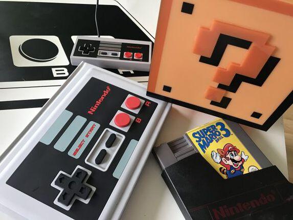 Nintendoliebe: Block Light und NES Notizbuch