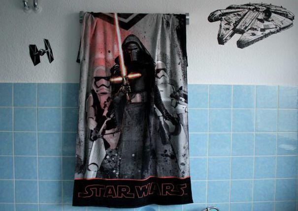 Mein Star Wars Badezimmer