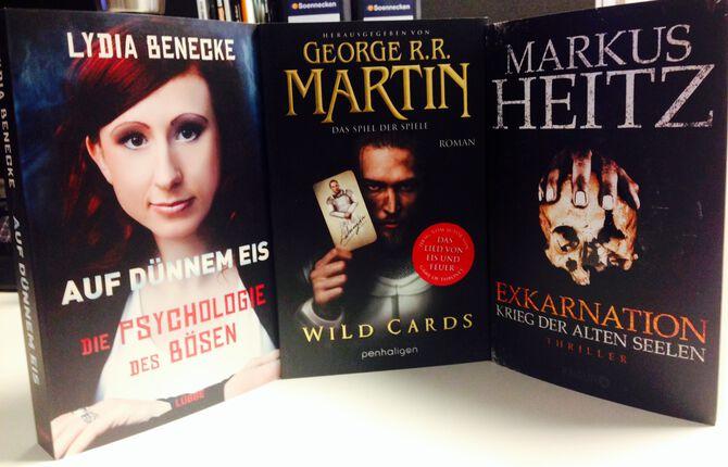 Die EMP Bücherkiste im September 2014