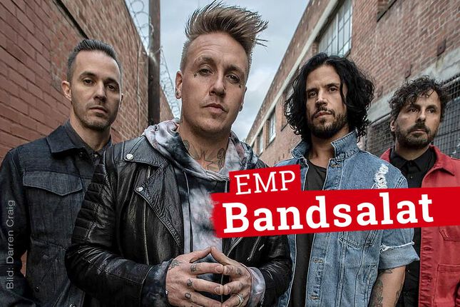 Bandsalat mit Papa Roach: Die einen nennen es Quarantäne, die anderen Quality Time!