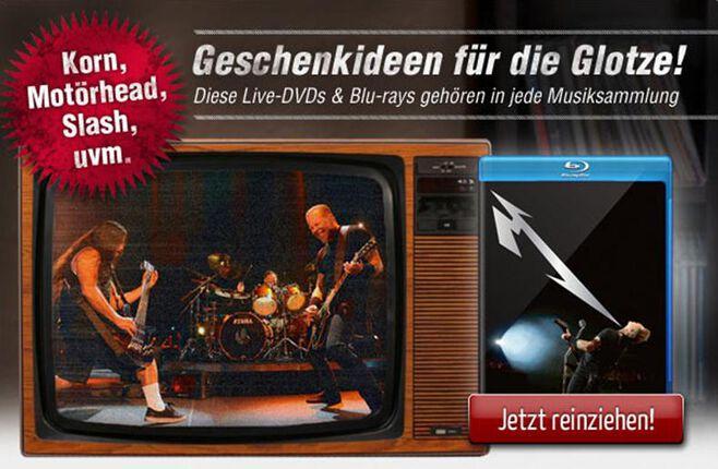 Live DVDs und Blu-rays bei EMP
