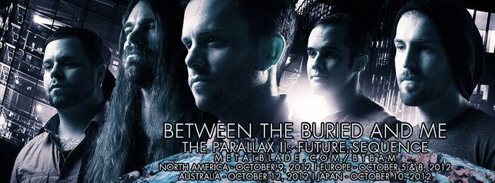 """Between The Buried And Me machen es dem Hörer mit dem neuen Album """"The Parallax II: Future Sequence"""" nicht einfach!"""