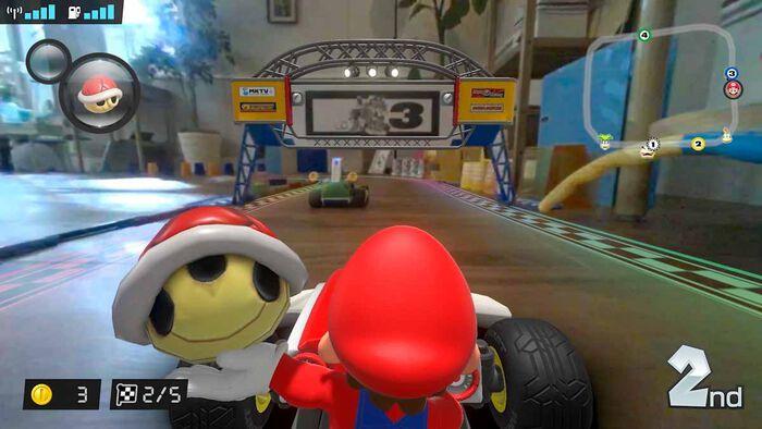 Weihnachtstipp: Mario Kart Live: Home Circuit